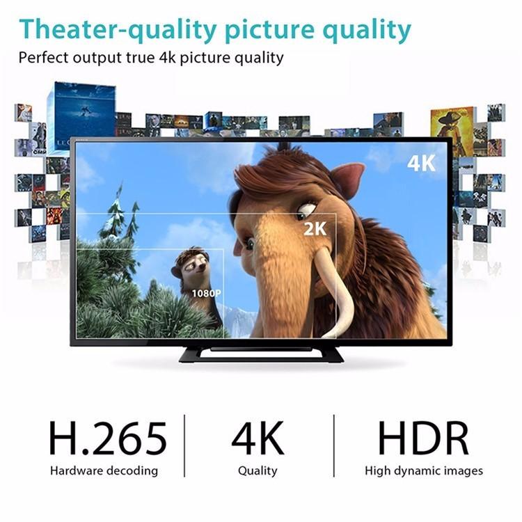 Android Tv Box H96 Pro Plus 3Gb+32Gb Octa Core 4K Ulta HD TV