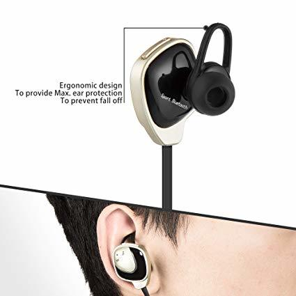 Image result for Fantime F2 Bluetooth In ear Headphone