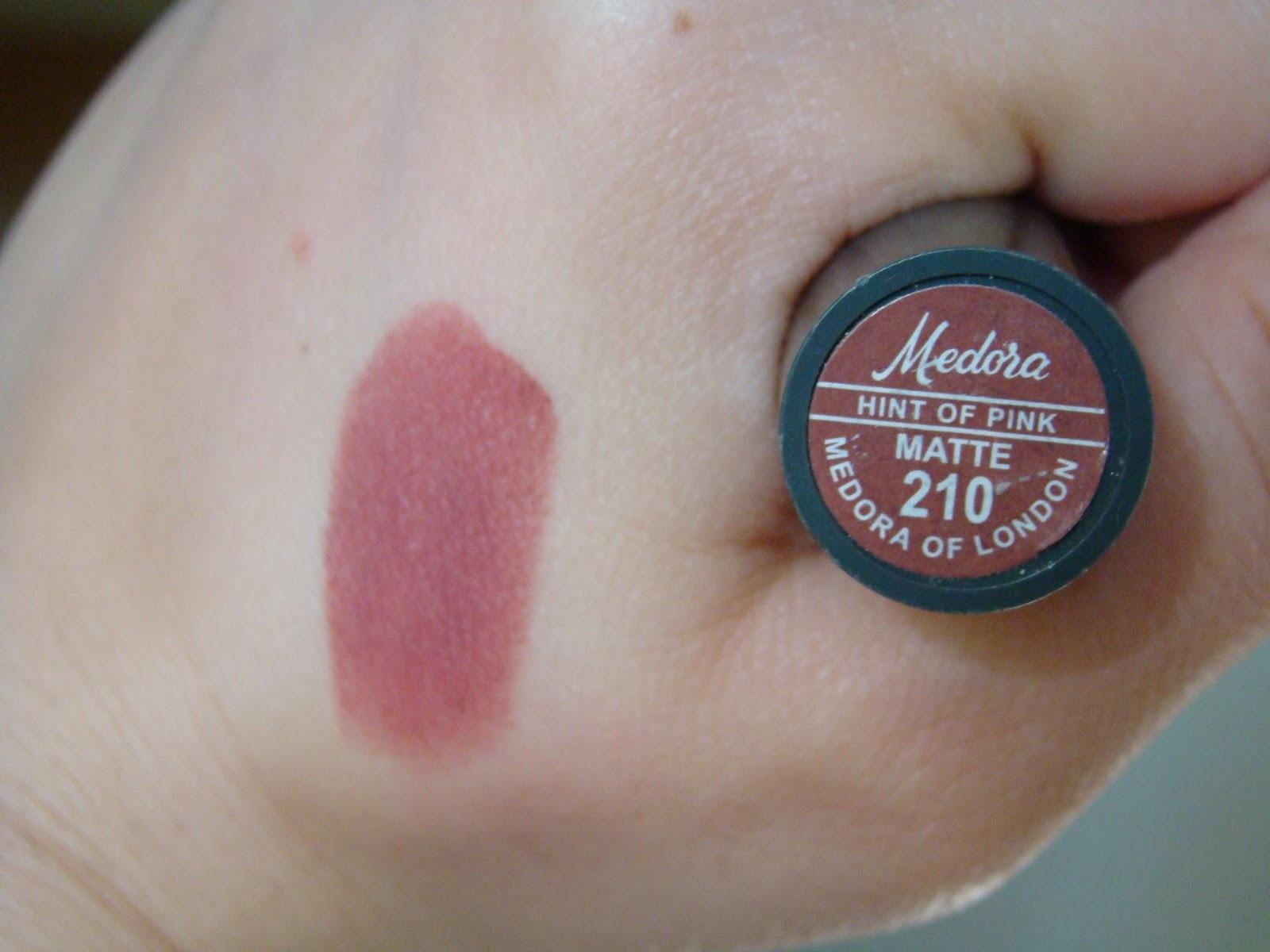 Image result for Medora Lipsticks Matte Hint Of Pink - 210