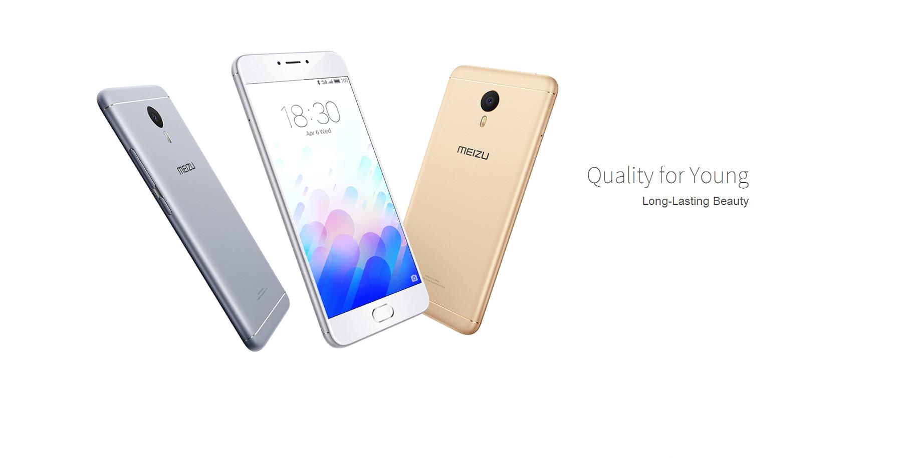 MEIZU M3 Note International Edition Android 5.1 4G Phablet with 5.5 inch FHD Screen Helio P10 Octa Core 3GB RAM 32GB ROM Fingerprint 13MP Rear Camera IR Proximity Sensor