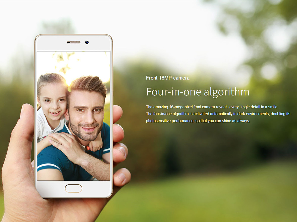 Meizu Pro 7 5.2 Inch Smartphone Super AMOLED Screen 4GB 128GB Helio X30 Deca Core Dual 12.0MP Rear Camera Android 7.0 Hi-Fi Fast Charge mCharge 3.0 - Black