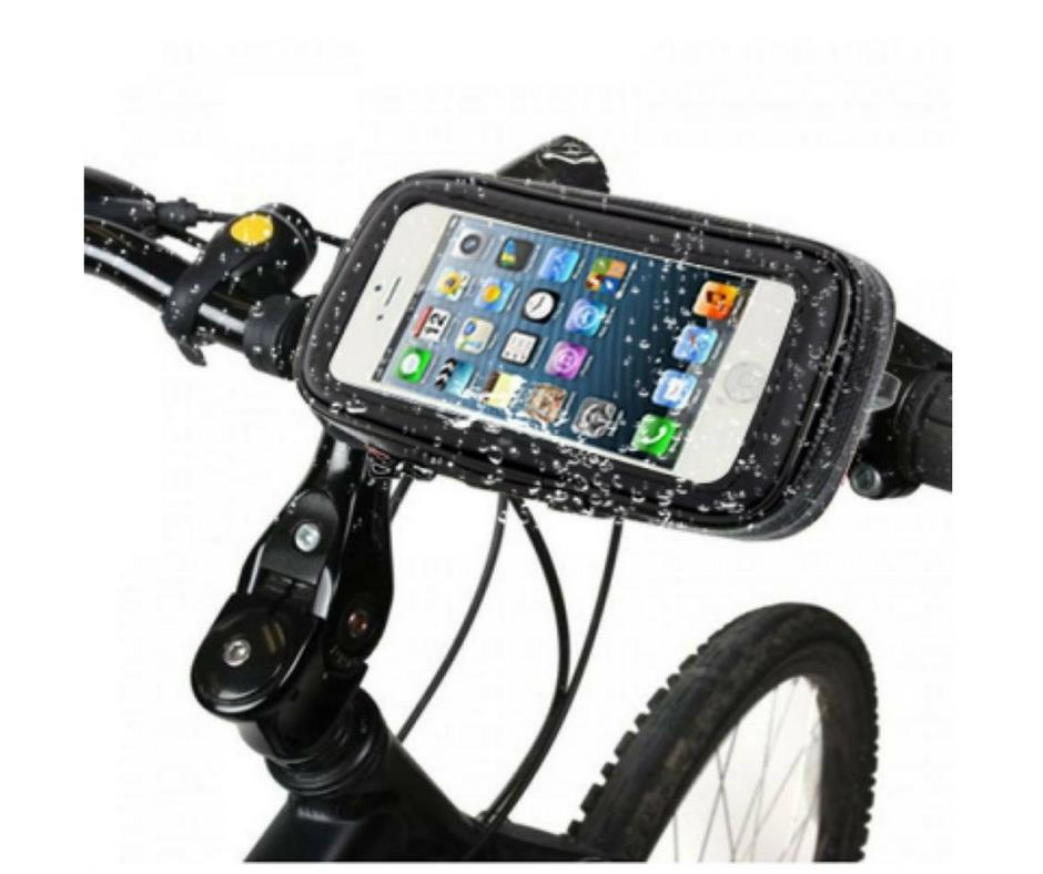 Weather Resistant Bicycle Phone Case Mount Holder