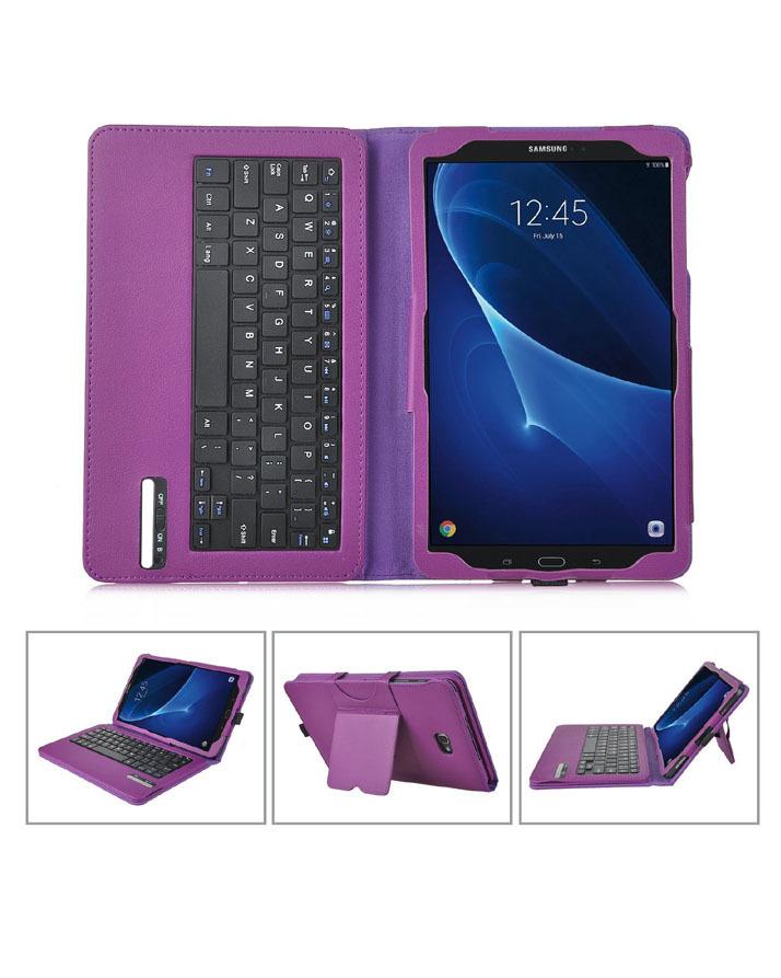sale retailer 161cf a67a2 Samsung Galaxy Tab A 10.1 Bluetooth Keyboard Portfolio Case - Ivso