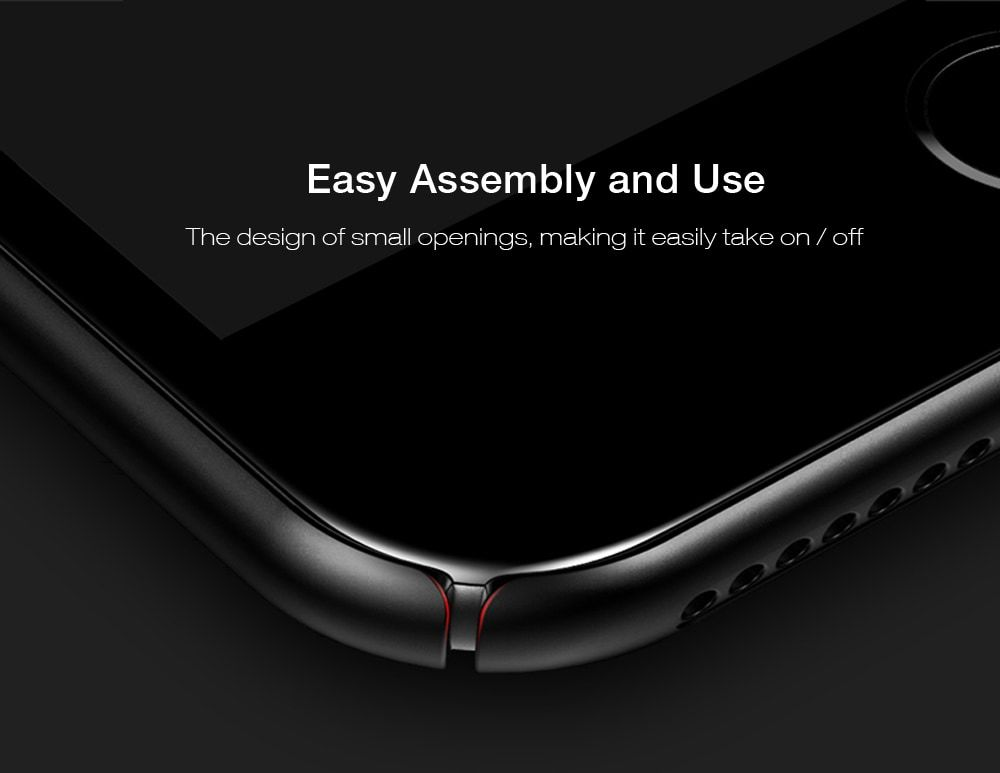 Baseus Plaid Case Protective Back Cover Skin for iPhone 7 Plus 5.5 inch