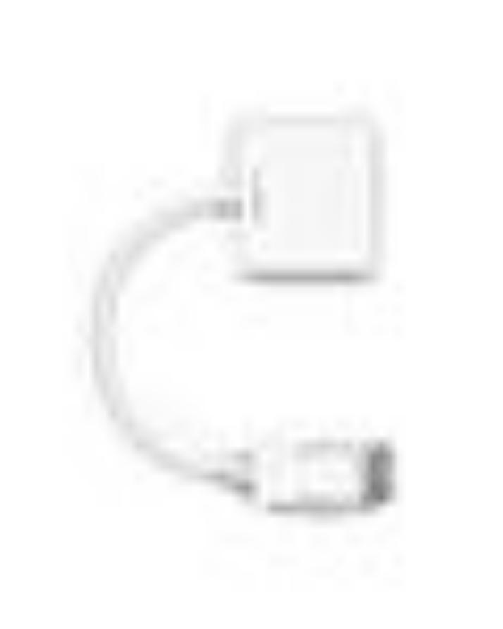 DP To VGA Converter - White