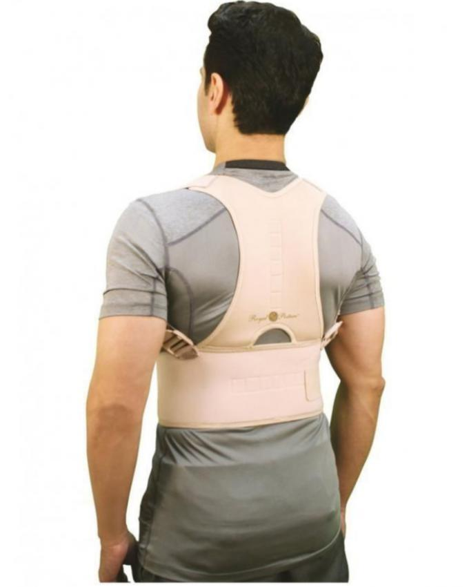 Royal Posture Corrector Back Support Belt - Skin