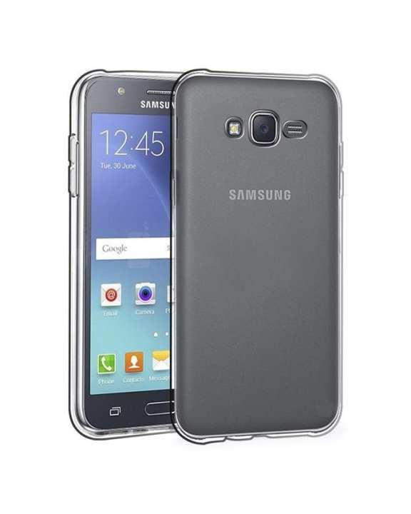 TPU Jelly Case for Samsung Galaxy J7 - Transparent
