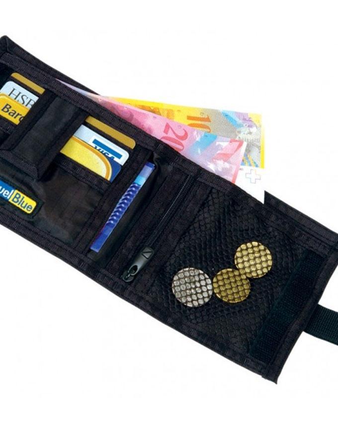 701 - Secret Sliding Wallet - Black