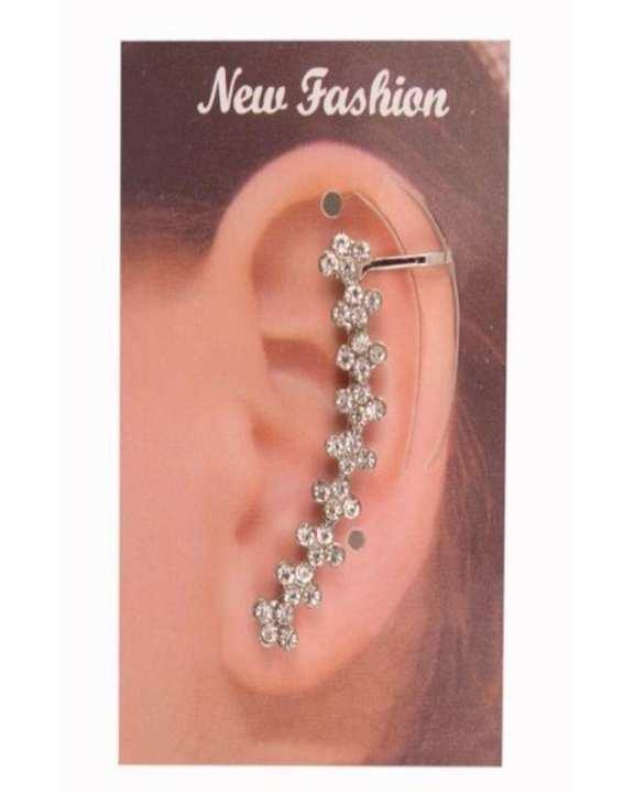 Silver Ear Cuff for Women