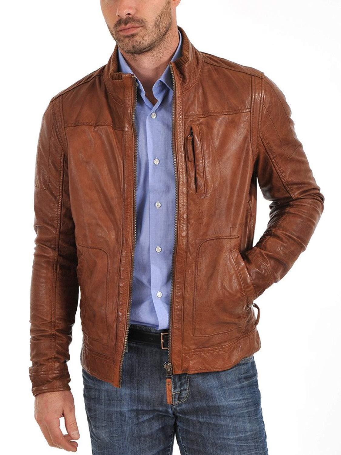 3a6ef0a3f53 New Collection Leather Jacket For Men Original Leather  Buy Sell Online    Best Prices in Pakistan