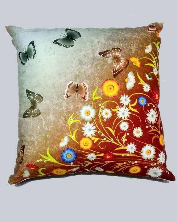 Ch Cushion 3D Butterfly Print 45*45 Cm