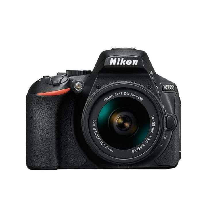 D5600 - DSLR Camera 24.2 MP with AF-P DX NIKKOR Lens - Black