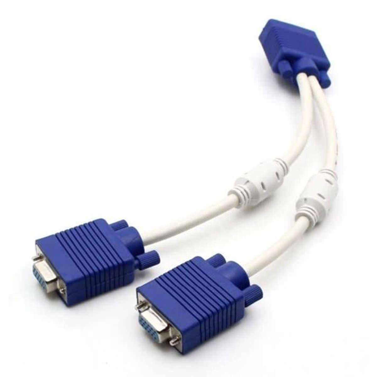 Computer Cables Connectors Online In Pakistan Rj45 Connector Wiring Diagram Success As Well Hdmi Cable Vga Y Od 8mm White