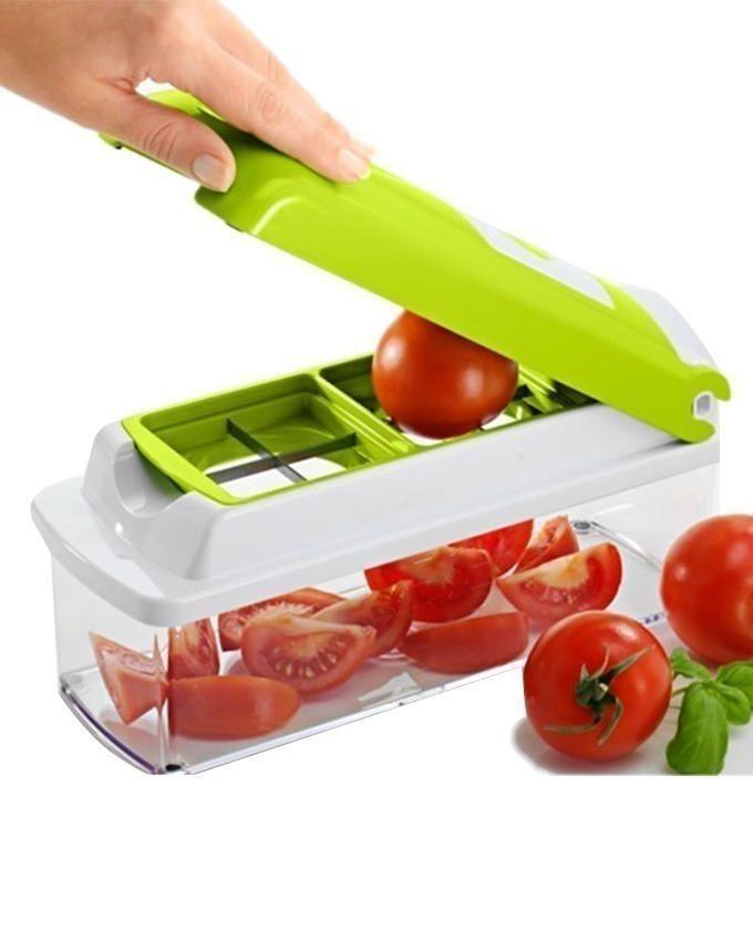 Nicer Dicer Plus Vegetable, Salad & Fruit Cutter - Green