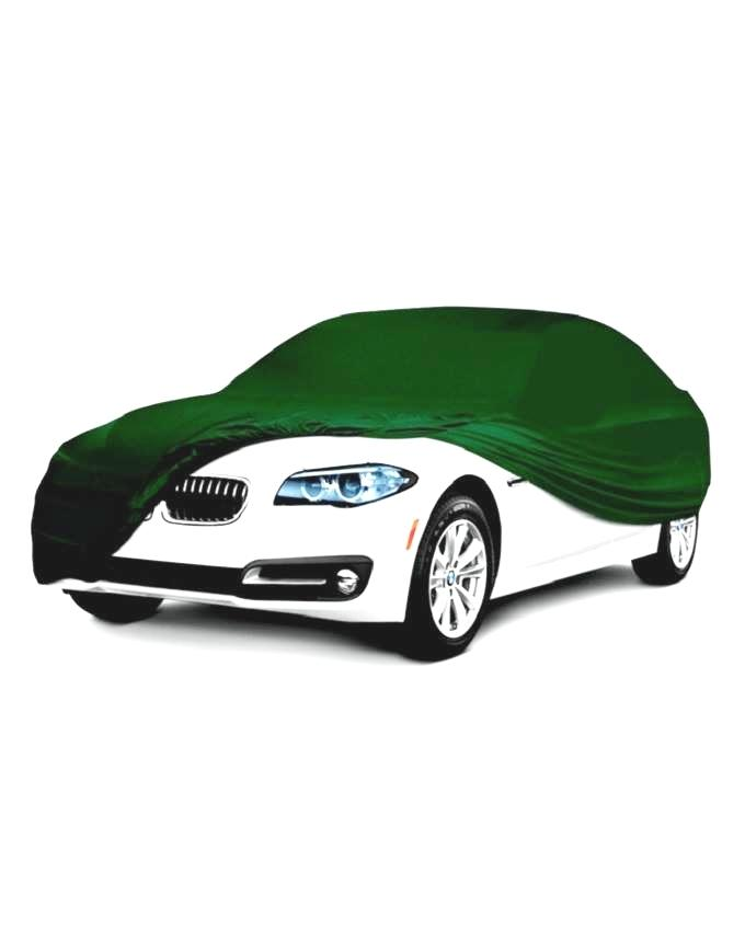 Scratch Resistant,Dust and Waterproof PVC Car Body Cover For Toyota - Military Green
