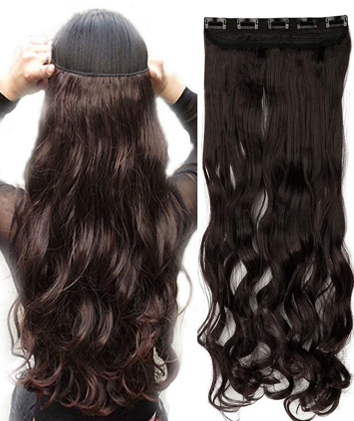 Long Clip Ins Synthetic Hair Extensions Buy Sell Online Best
