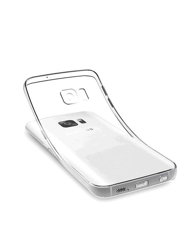 Back Case For Samsung S6 - Transparent