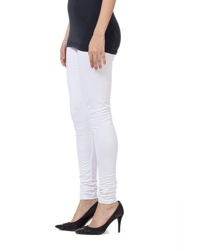 Pack of 2 - Black & White - Cotton - Tights For Women