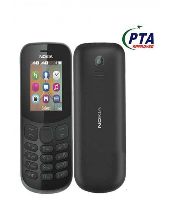 N 130 Phone 2017 - Dual Sim - Black
