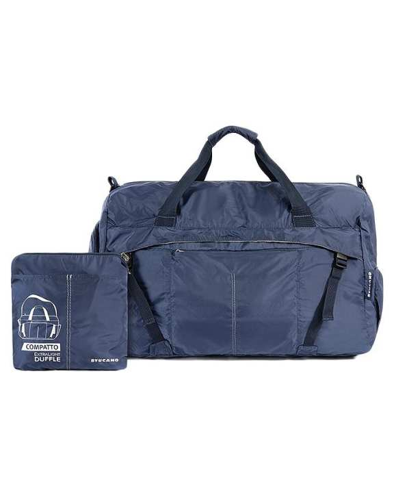Compatto Duffle Travel Bag - Blue