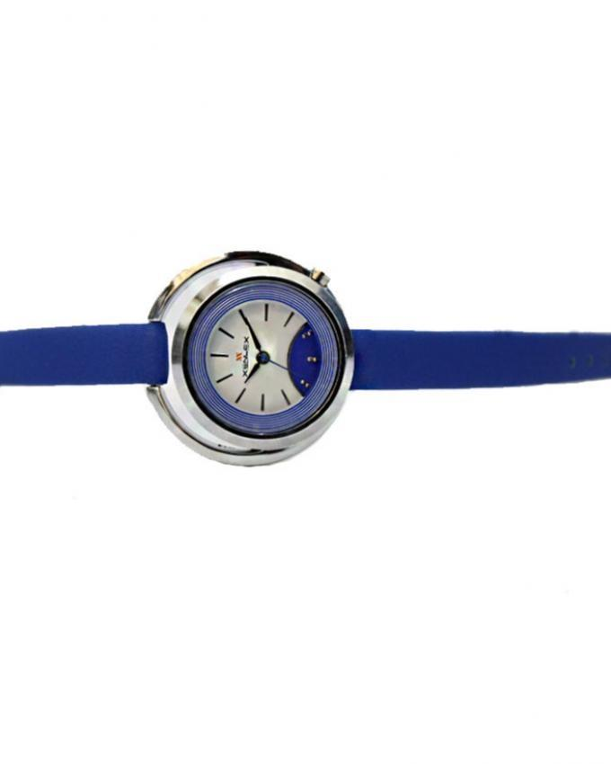 5123 - Artificial Leather Analog Watch for Women - Blue