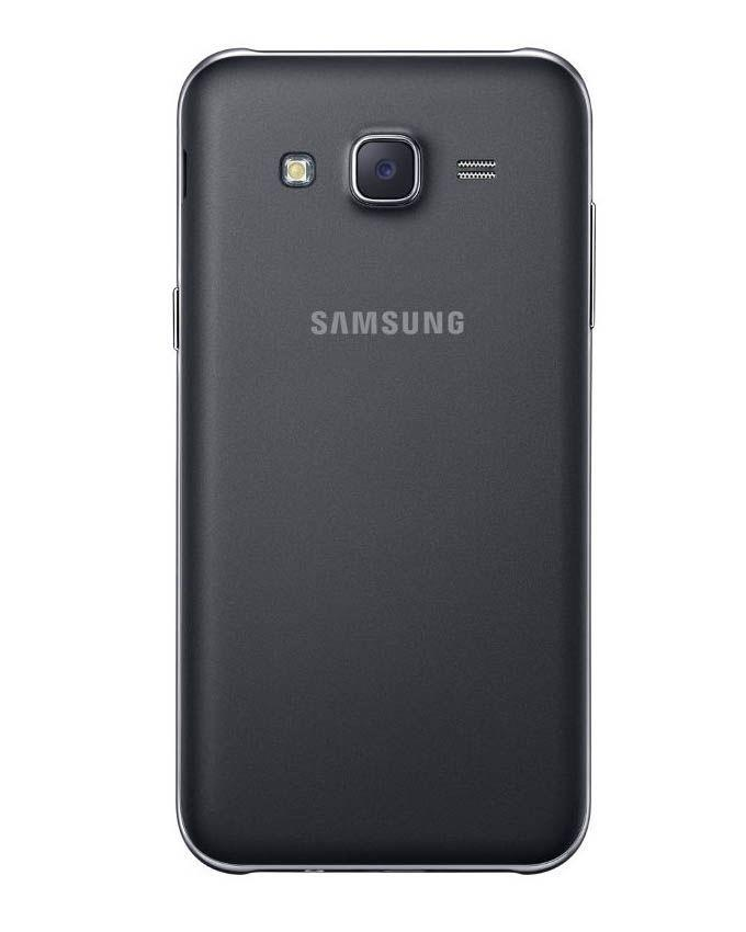 Body Replacement Back For Samsung Galaxy J5 - Black