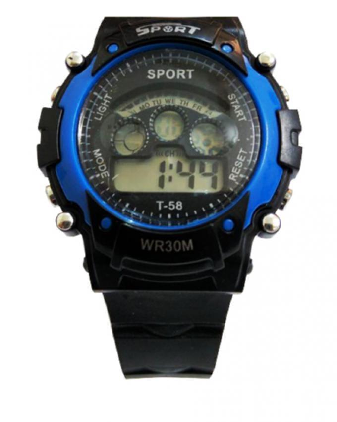 Digital Sports Watch - Blue