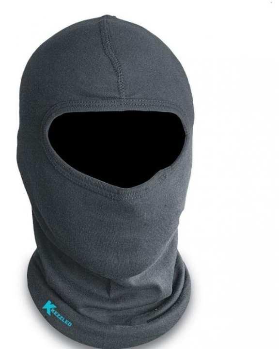 Cotton Face & Neck Mask - Black