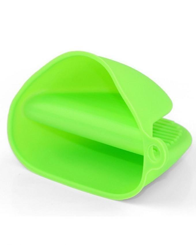 Pack of 2 Silicone Hot Plate Holder - Green