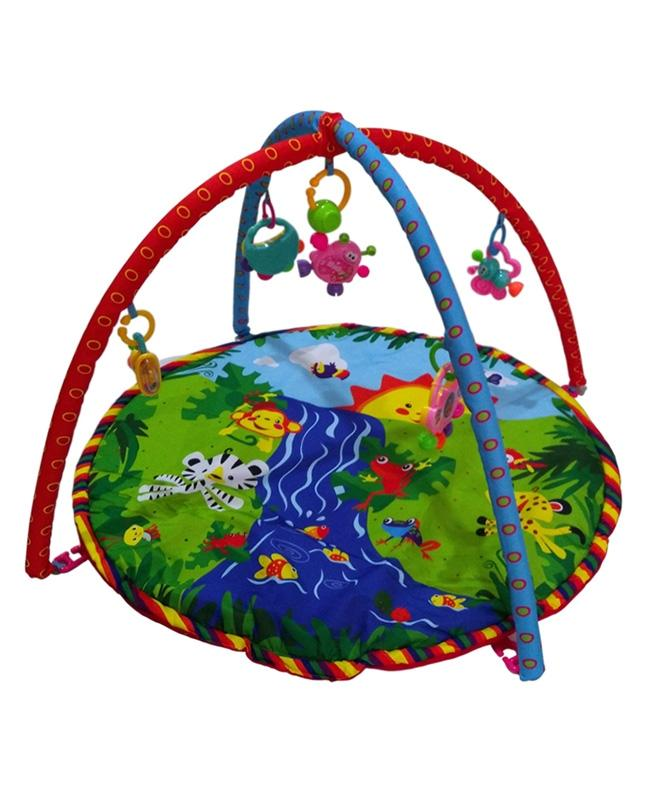 Baby Cloth Play Gym for Kids - Jungle Theme - 30 inches