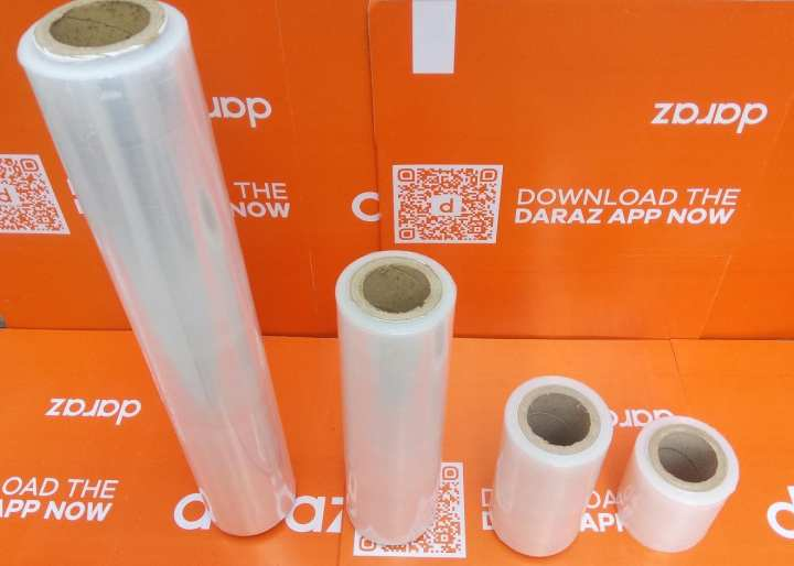 4 Sizes 300 Meter Long Cling Shrink Plastic Stretch Packing Wrap