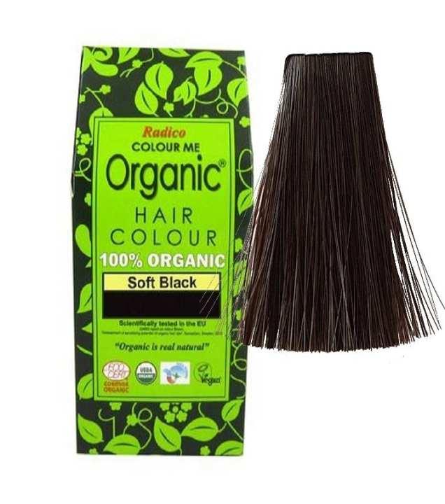 "Herbal Hair Dye ""Color Me Organic""  Soft Black"