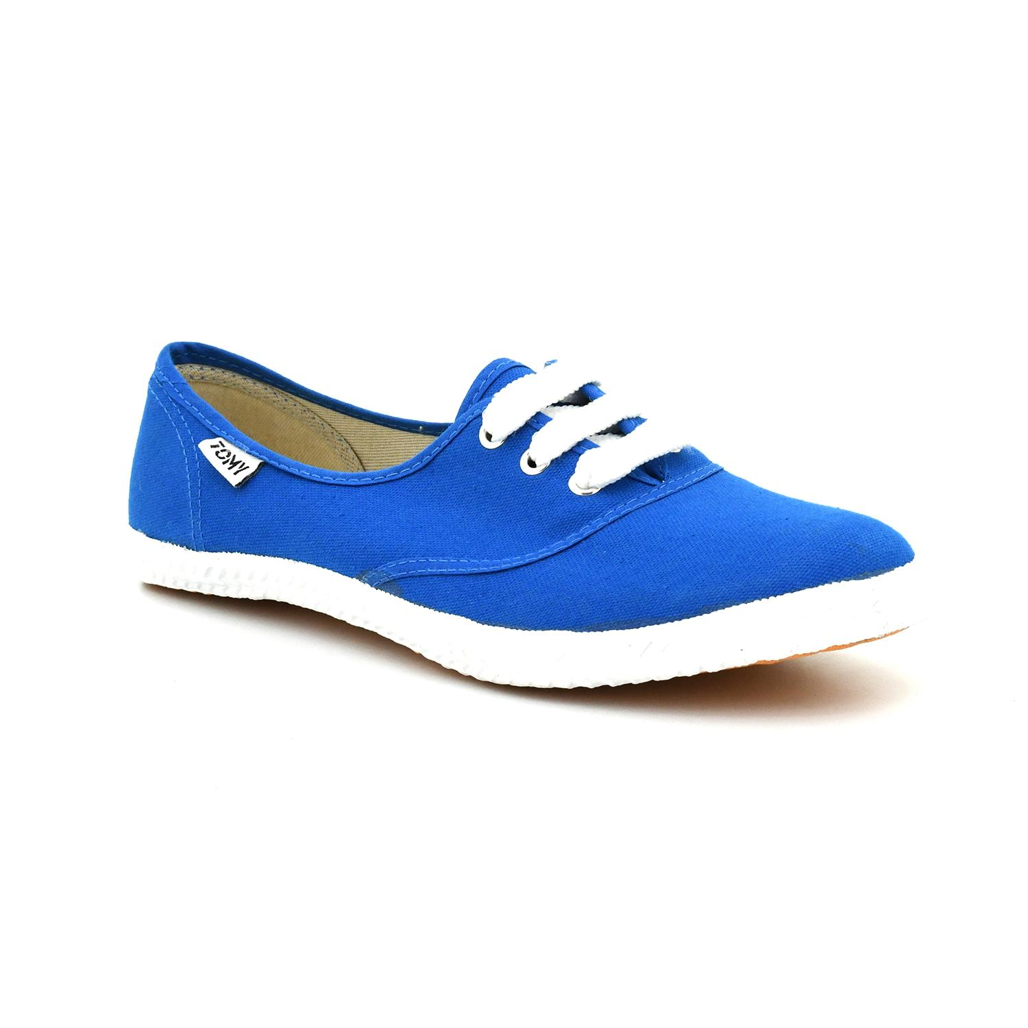 8479f267034b2 Tomy Takkies Blue Canvas Shoes For Men