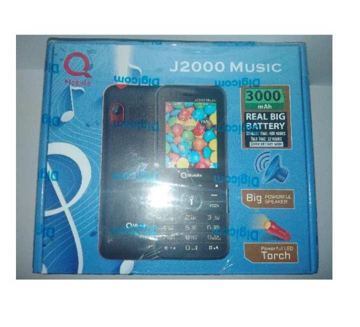 Q Mobile J2000 Music 3000Mah Battery  With One Year Official Warranty