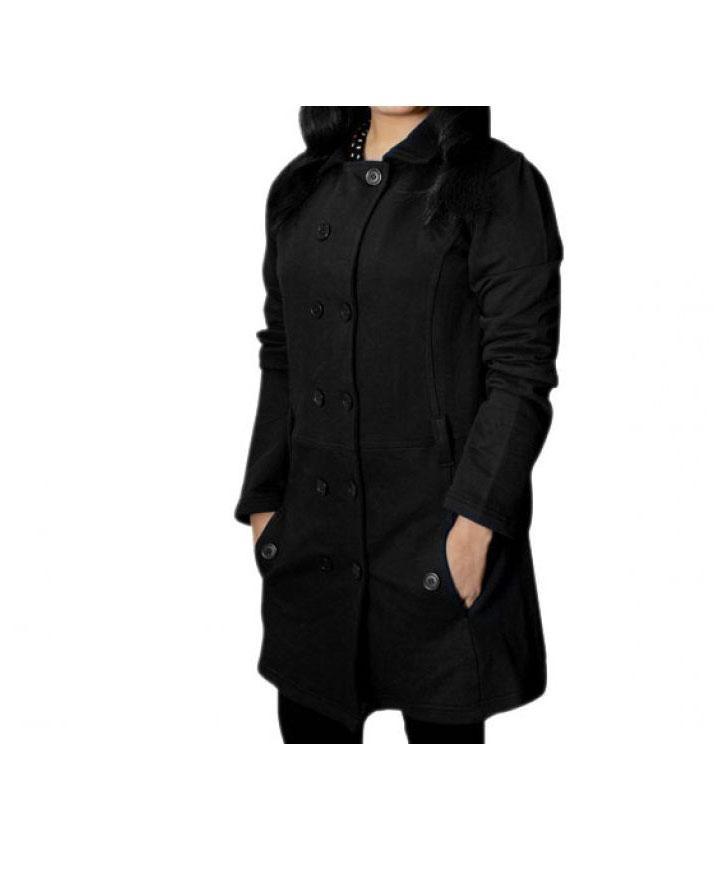 68be27936df6 Black Ladies Coat for Winter: Buy Online at Best Prices in Pakistan ...