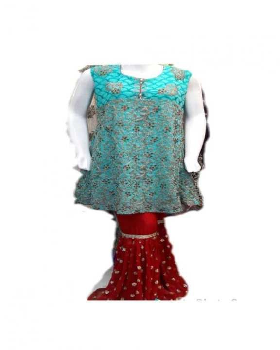 Formel Wear - Color Sea Green - Fabric Chiffon - Women