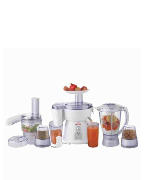 WF-2805 - Jumbo Food Factory With Extra Grinder - 5 in 1 - White