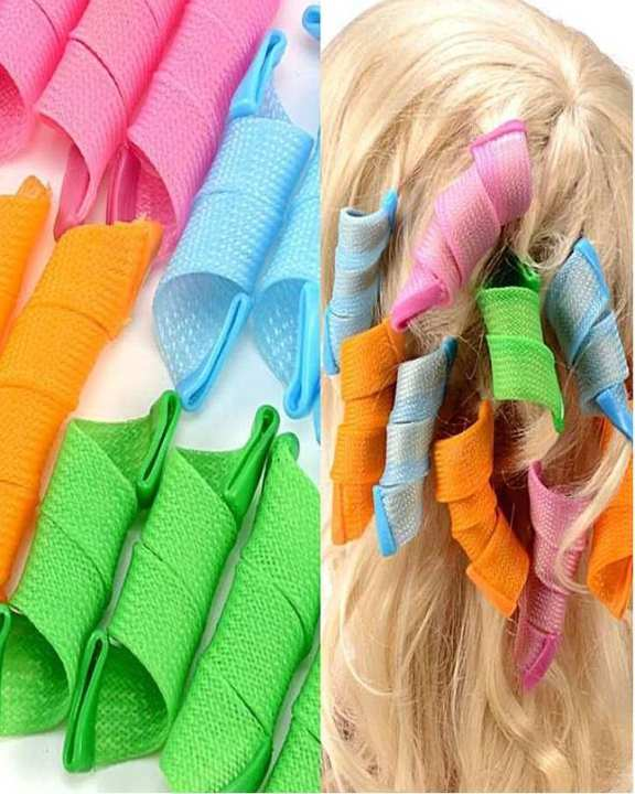 Pack Of 18 - Magic Leverage Hair Curlers - Multicolor