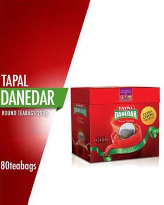 Danedar 200gm ( 80 Round Tea Bag )