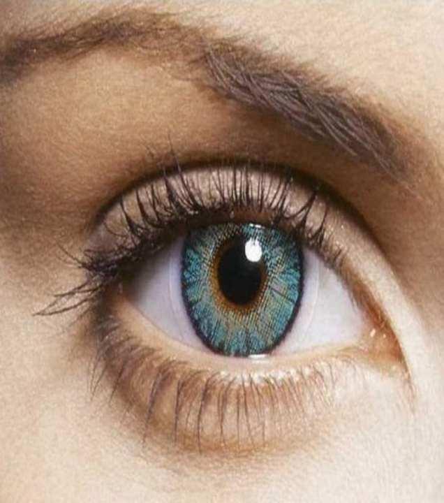 FreshLook Turquoise Plain Single Contact Lens