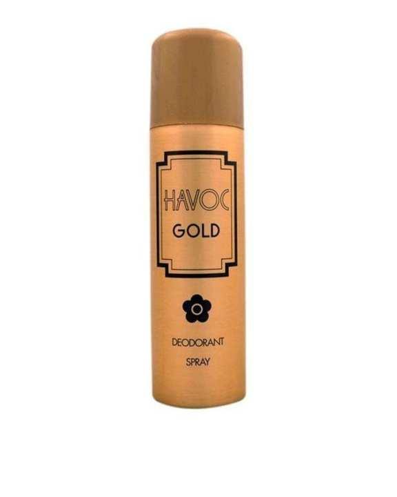 Havoc Gold Deodorant Spray for Men - 200 ml