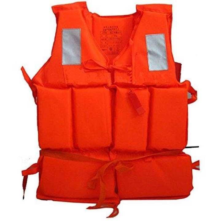 Orange Foam Swimming Life Jacket