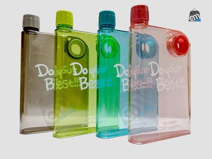 Notebook Portable Slim Water Bottle