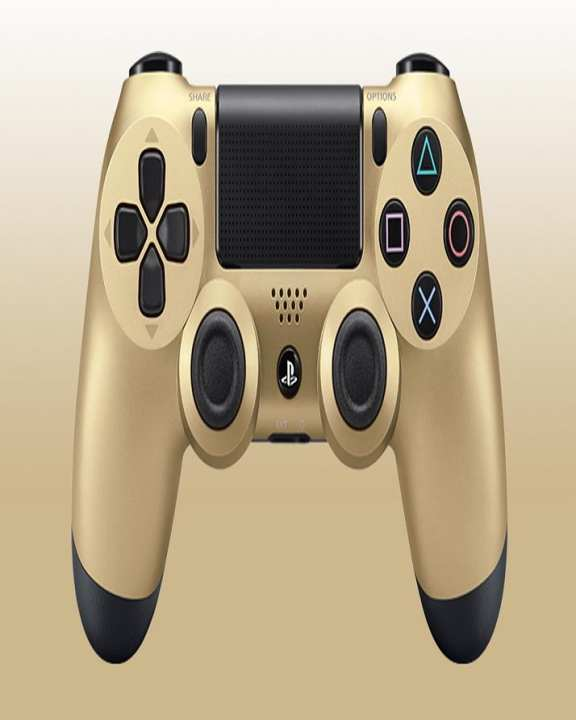 Dual Shock 4 Wireless Controller - Black & Gold