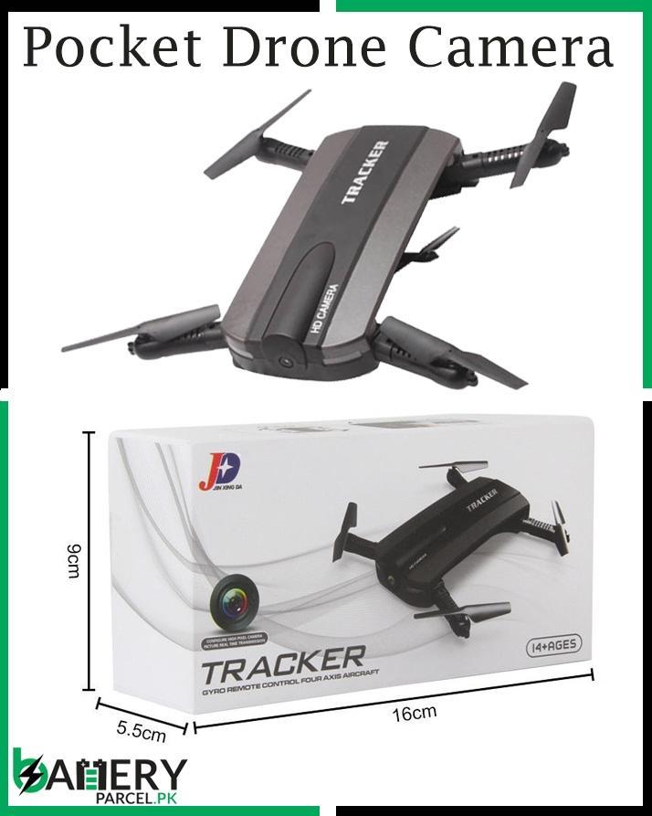 JXD 523 Tracker Foldable Mini Rc Selfie Drone with Wifi FPV 720P HD Camera