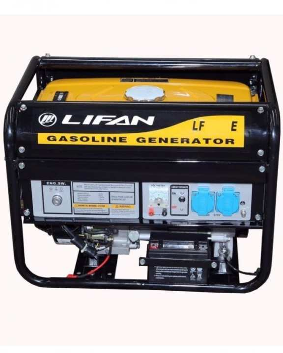 LIFAN Petrol Generator 2.7 KW - LF3500E - with Battery