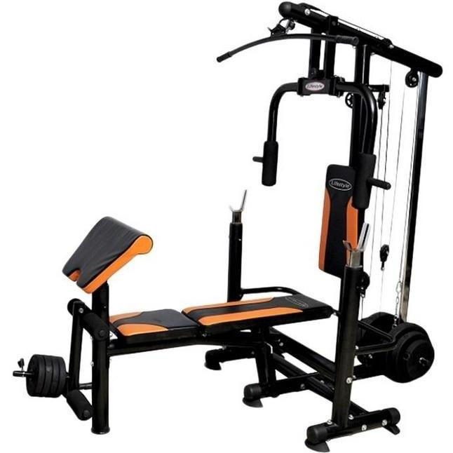 Combo Multi Home Gym - 8925 - Black 9cb30b26b37