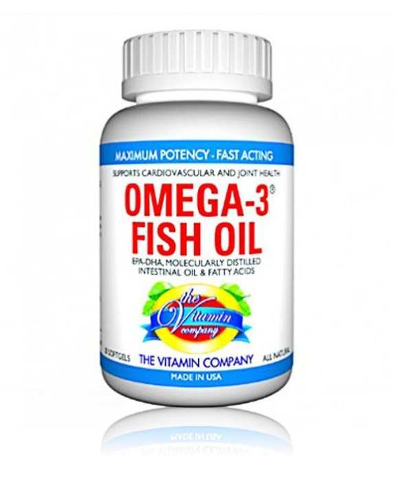 Omega 3 Fish Oil Supplement - 20 Soft Gels