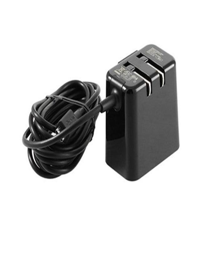 Blackberry Folding Blade Charger 5v 1 8a - Black fast charger 100%