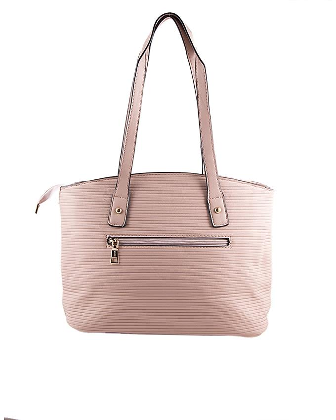 Two Pairs Of Onion Pink  Handbag